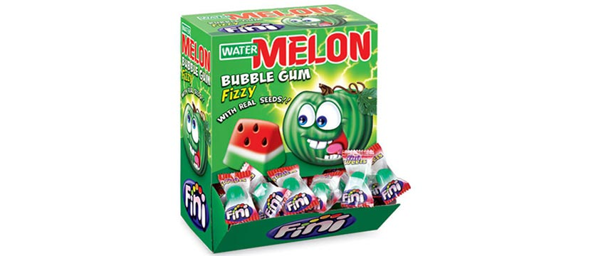 Fini Watermelon Bubble Gum 200pcs
